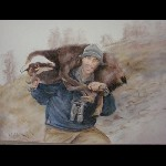 3- Chasseur - pastel